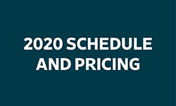 2020 SCHEDULE AND PRICING